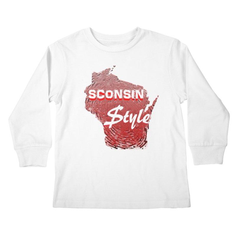 sconsin $tyle. Kids Longsleeve T-Shirt by JP$ Artist Shop