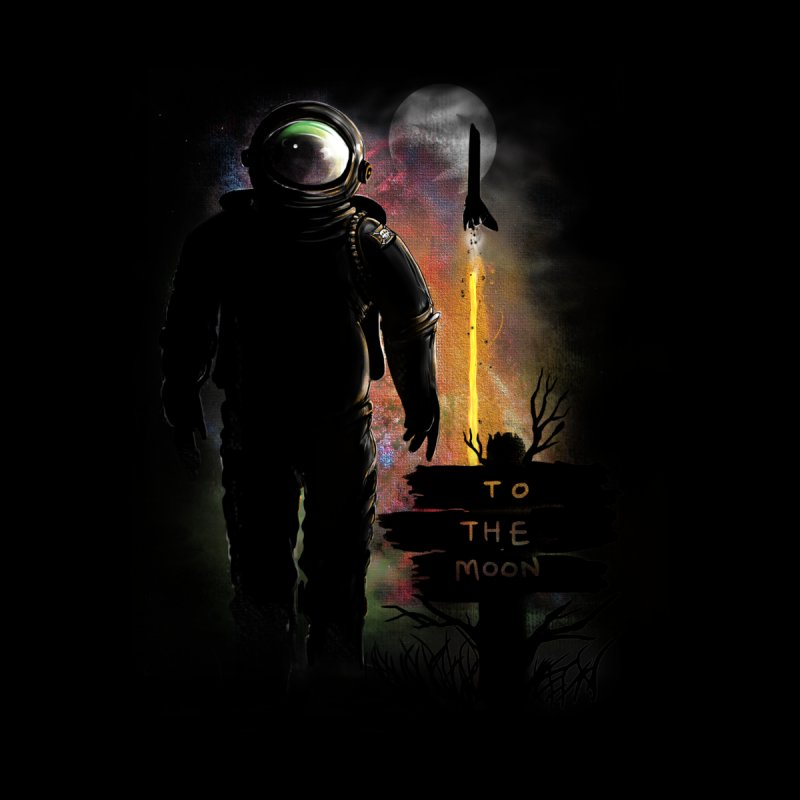 To the Moon by JP$ Artist Shop