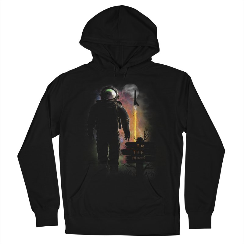 To the Moon Women's Pullover Hoody by JP$ Artist Shop