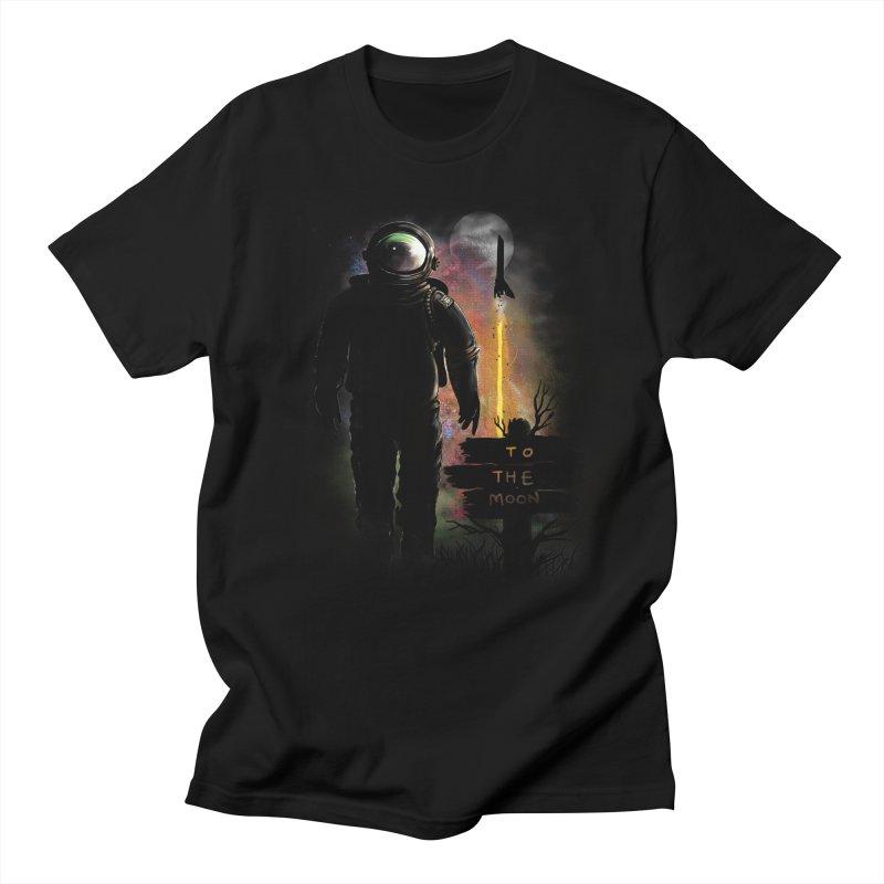 To the Moon Women's Unisex T-Shirt by JP$ Artist Shop