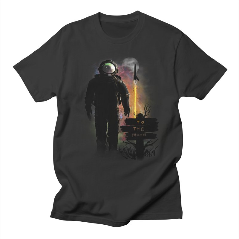 To the Moon Men's T-shirt by JP$ Artist Shop