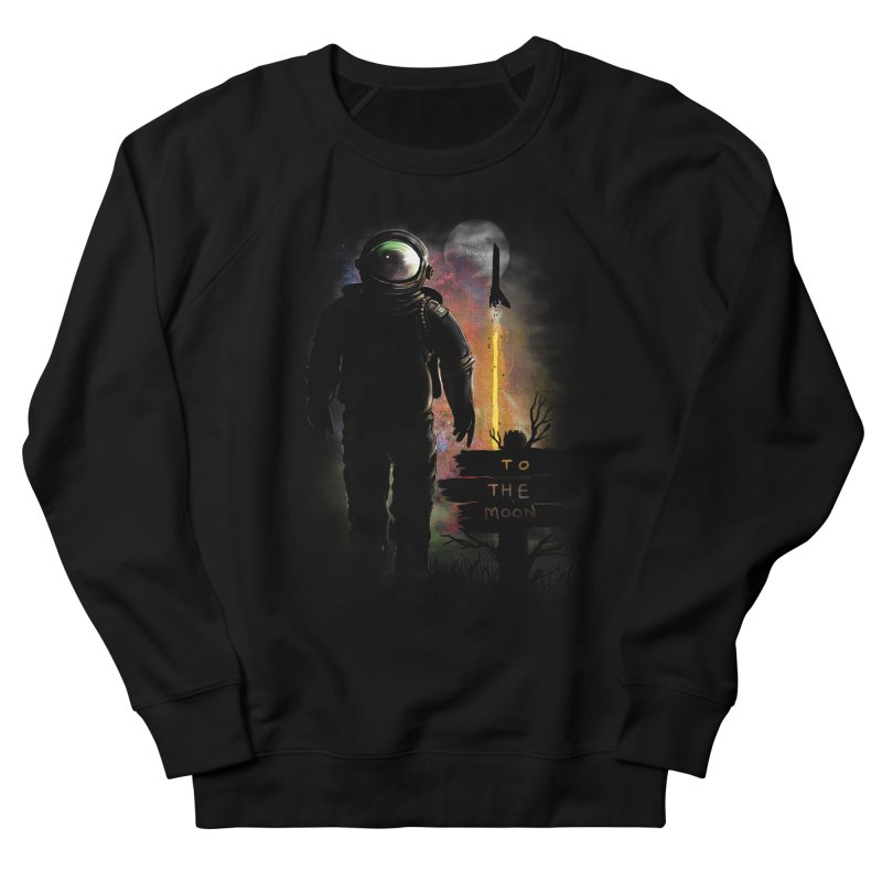To the Moon Men's Sweatshirt by JP$ Artist Shop