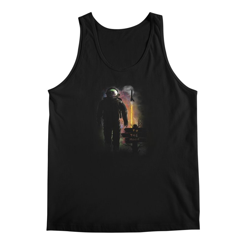 To the Moon Men's Tank by JP$ Artist Shop