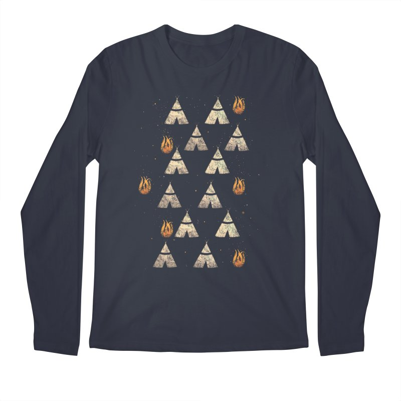 teepee tent Men's Longsleeve T-Shirt by JP$ Artist Shop