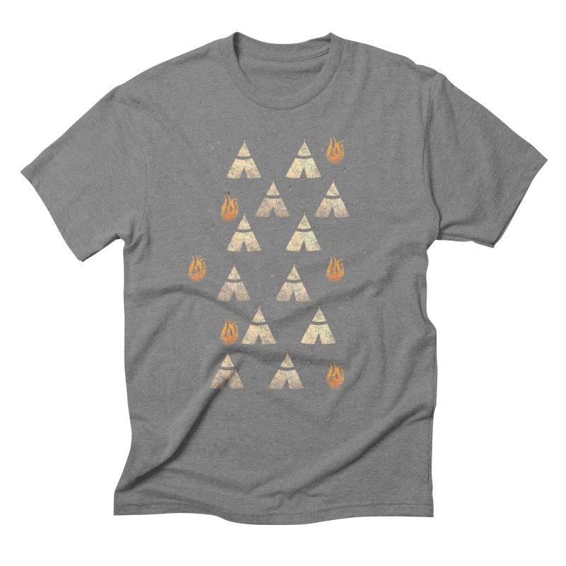 teepee tent Men's Triblend T-Shirt by JP$ Artist Shop