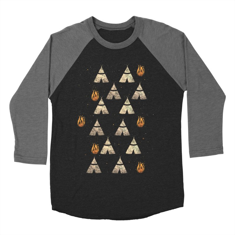 teepee tent Men's Baseball Triblend T-Shirt by JP$ Artist Shop