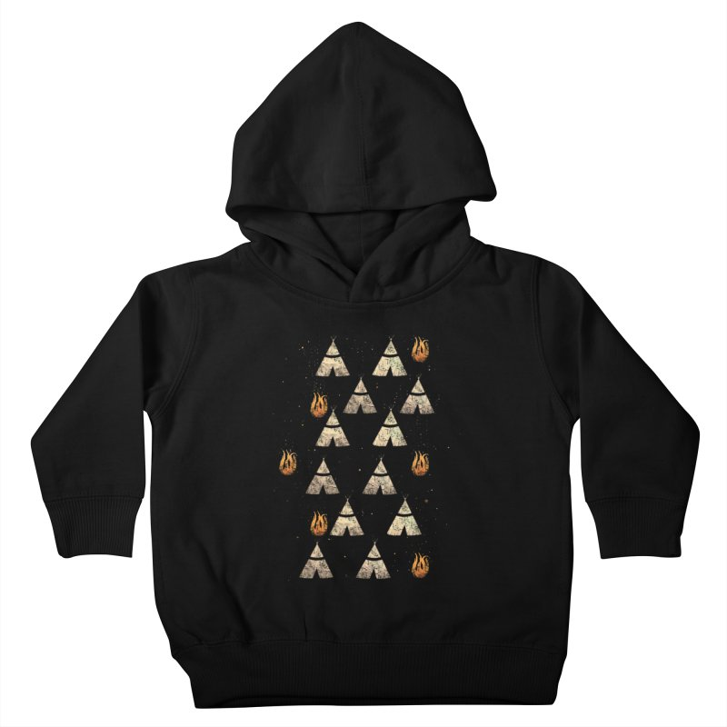 teepee tent Kids Toddler Pullover Hoody by JP$ Artist Shop