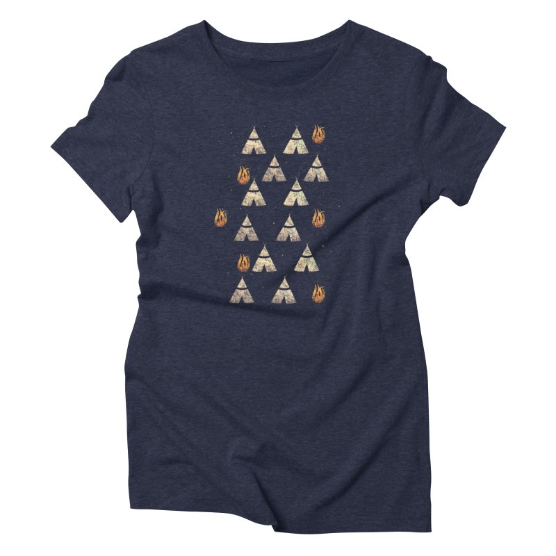 teepee tent Women's Triblend T-Shirt by JP$ Artist Shop