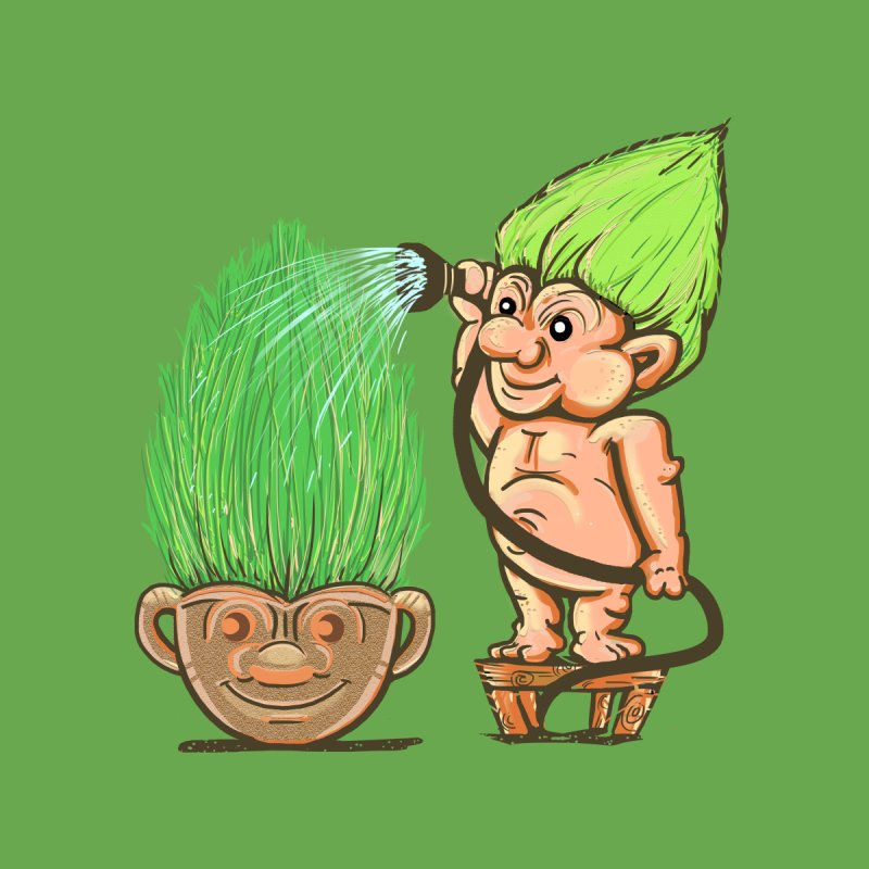 Planter Troll by JP$ Artist Shop
