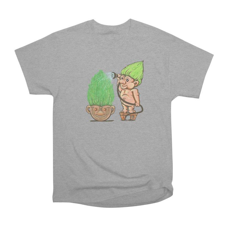 Planter Troll Women's Heavyweight Unisex T-Shirt by JP$ Artist Shop