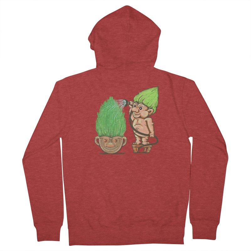 Planter Troll Men's Zip-Up Hoody by JP$ Artist Shop