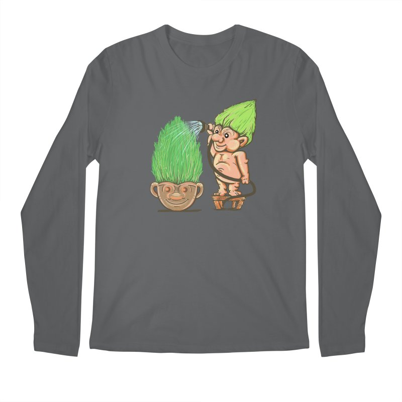 Planter Troll Men's Longsleeve T-Shirt by JP$ Artist Shop