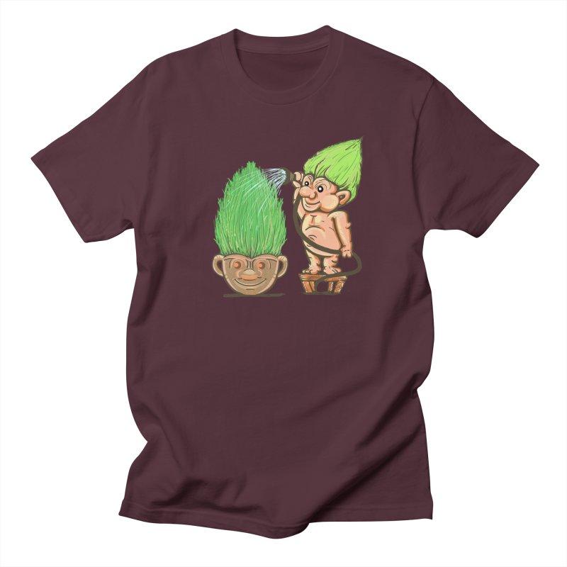 Planter Troll Men's T-shirt by JP$ Artist Shop