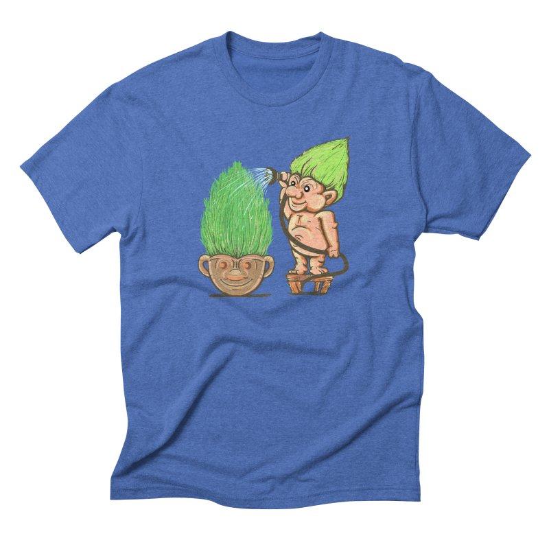 Planter Troll Men's Triblend T-Shirt by JP$ Artist Shop