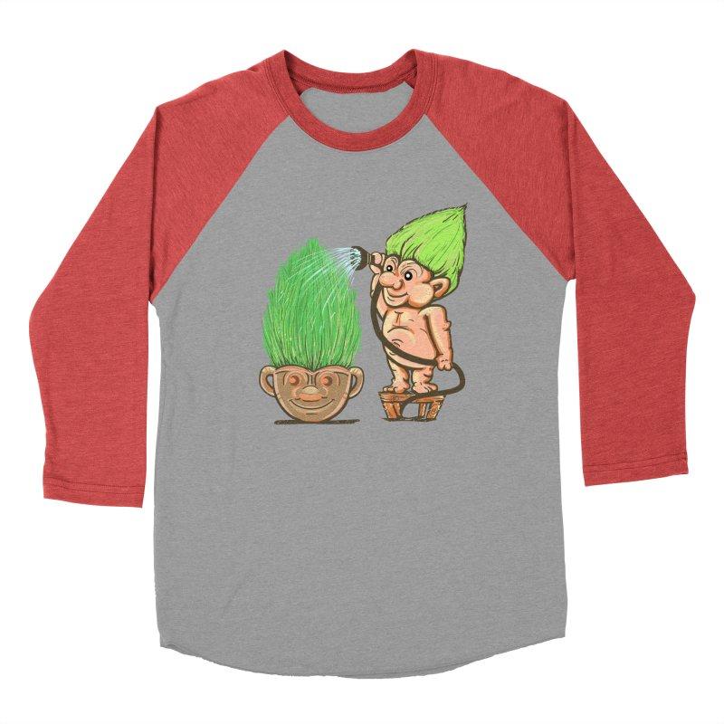 Planter Troll Men's Baseball Triblend T-Shirt by JP$ Artist Shop