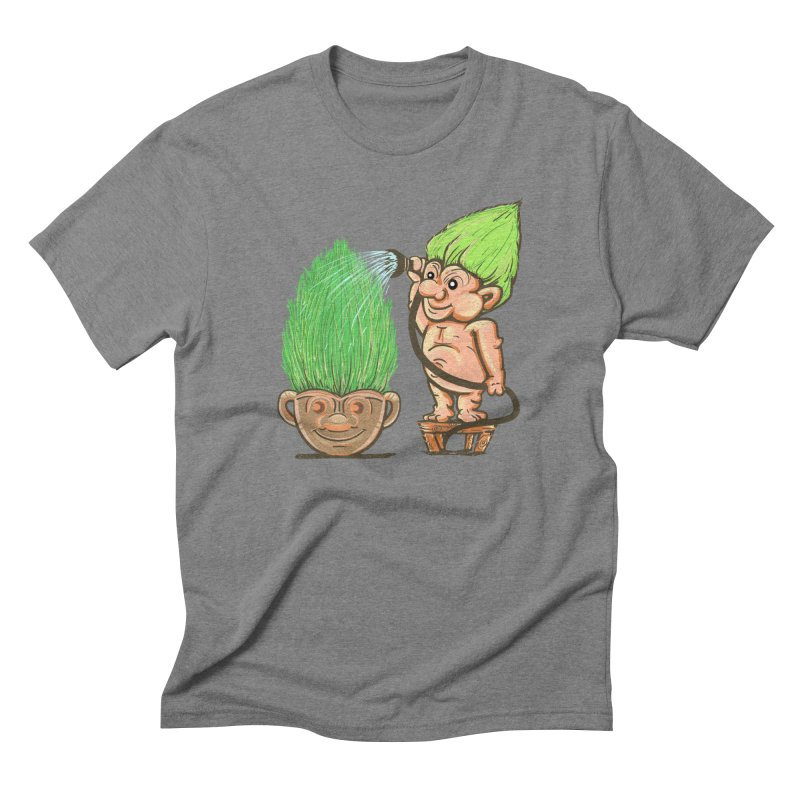 Planter Troll Men's Triblend T-shirt by JP$ Artist Shop