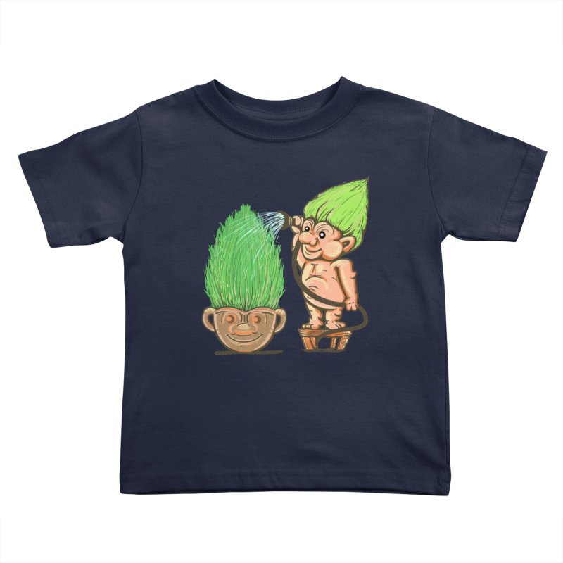 Planter Troll Kids Toddler T-Shirt by JP$ Artist Shop
