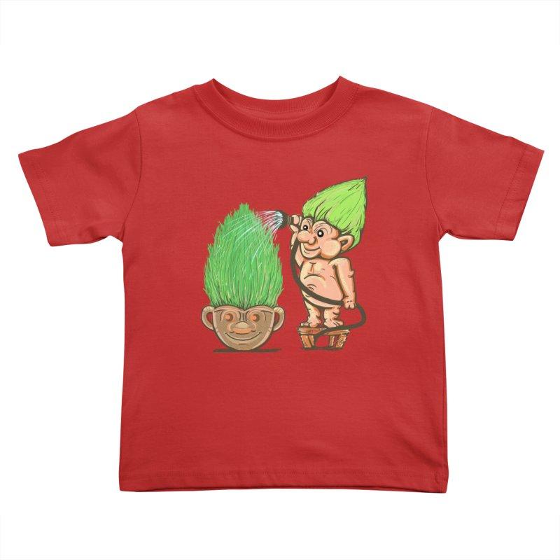 Planter Troll Kids Toddler T-Shirt by JP$ Artist Shop