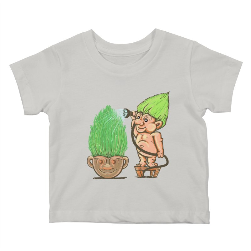 Planter Troll Kids Baby T-Shirt by JP$ Artist Shop