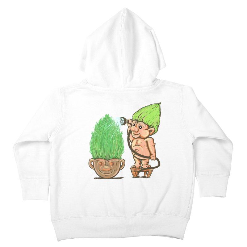 Planter Troll Kids Toddler Zip-Up Hoody by JP$ Artist Shop