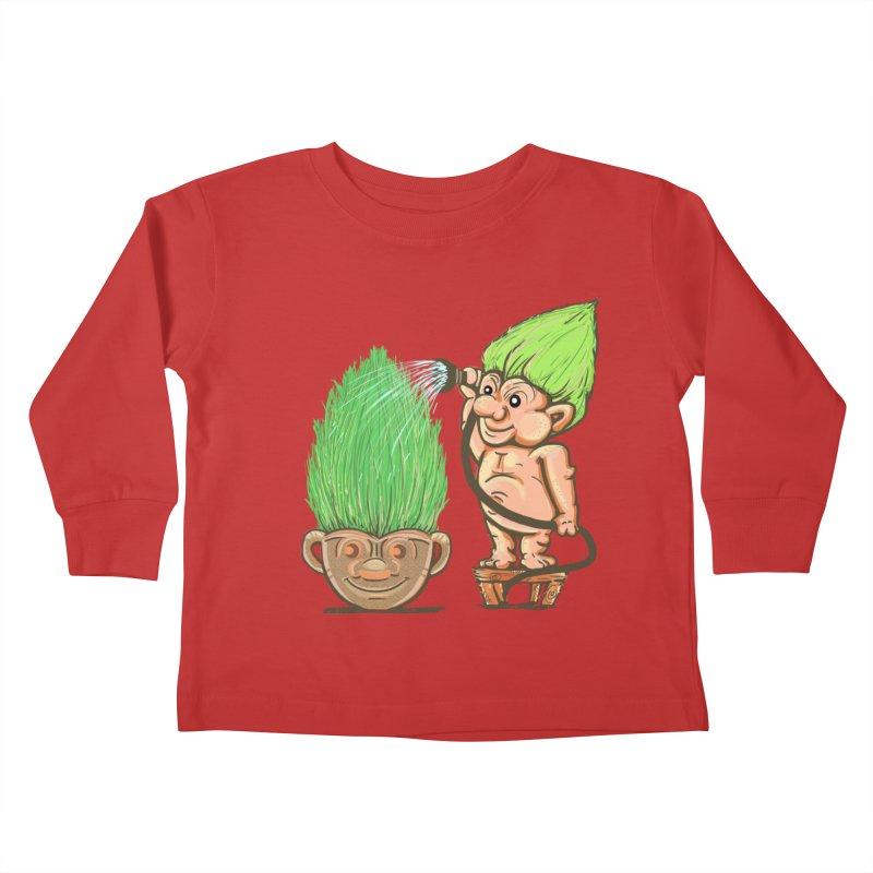 Planter Troll Kids Toddler Longsleeve T-Shirt by JP$ Artist Shop