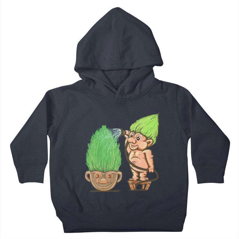 Planter Troll Kids Toddler Pullover Hoody by JP$ Artist Shop
