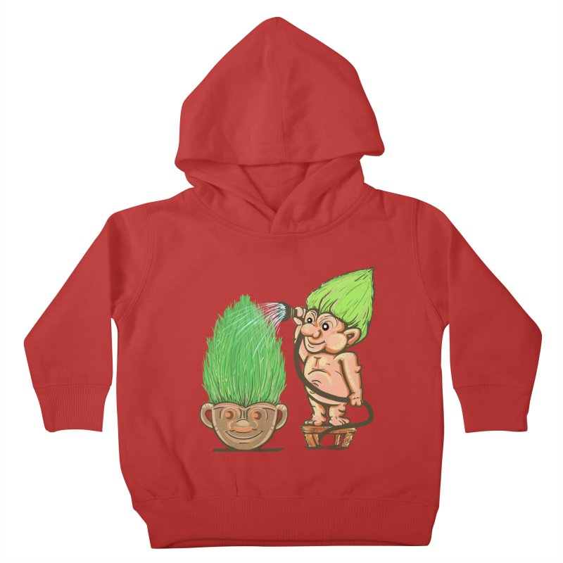 Planter Troll Kids Toddler Pullover Hoody by JP$ Artist Shop