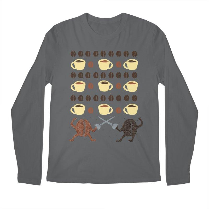 Light roast vs. Dark roast Men's Longsleeve T-Shirt by JP$ Artist Shop