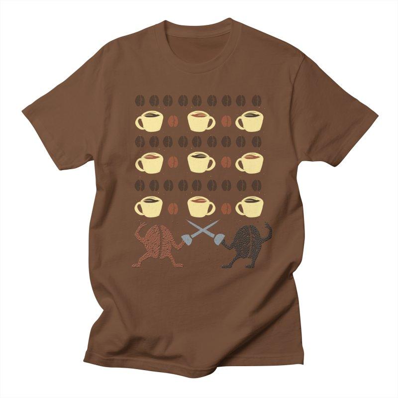 Light roast vs. Dark roast Men's T-Shirt by JP$ Artist Shop