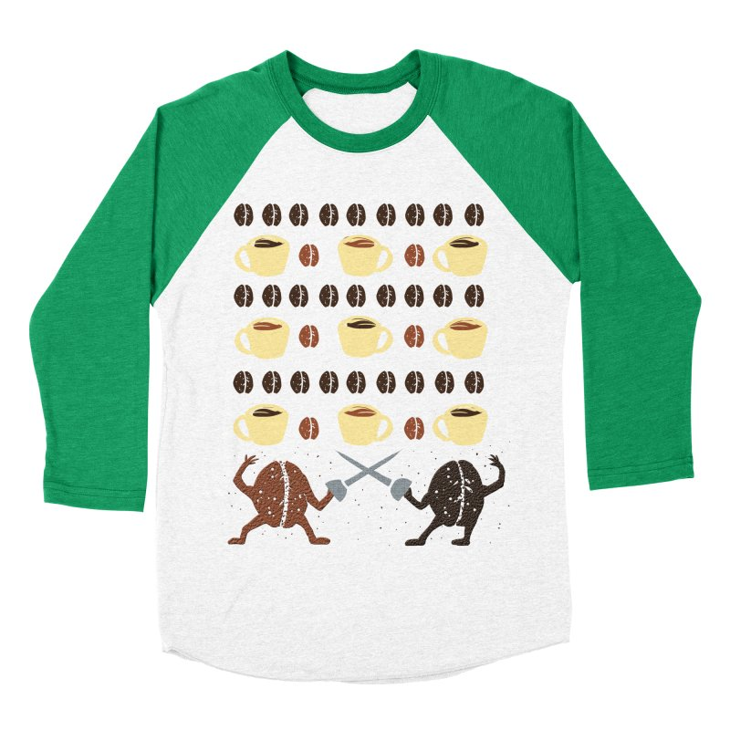 Light roast vs. Dark roast Men's Baseball Triblend T-Shirt by JP$ Artist Shop