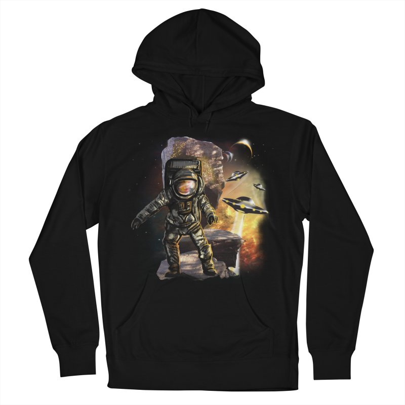 A tight spot in space Women's Pullover Hoody by JP$ Artist Shop