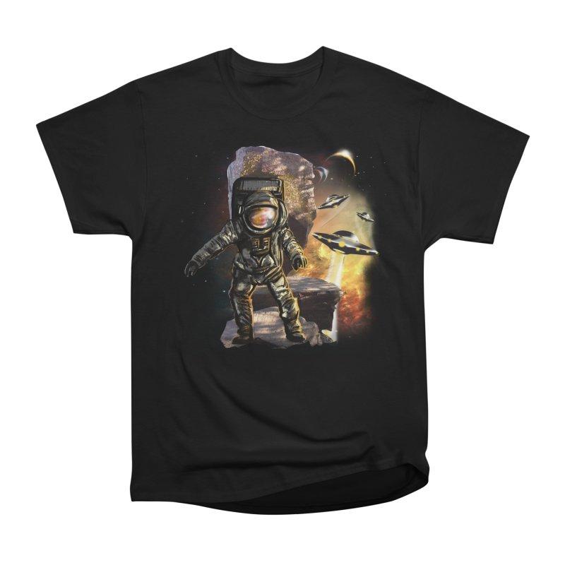 A tight spot in space Women's Heavyweight Unisex T-Shirt by JP$ Artist Shop