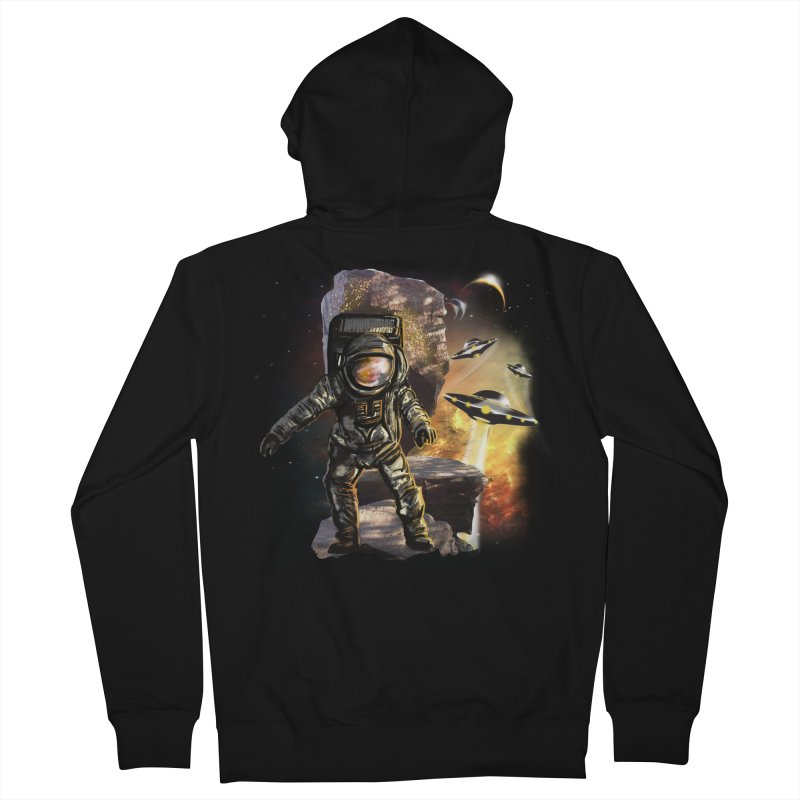 A tight spot in space Men's Zip-Up Hoody by JP$ Artist Shop