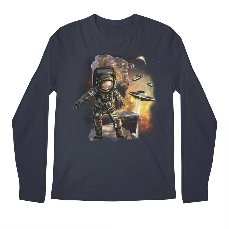A tight spot in space Men's Longsleeve T-Shirt by JP$ Artist Shop
