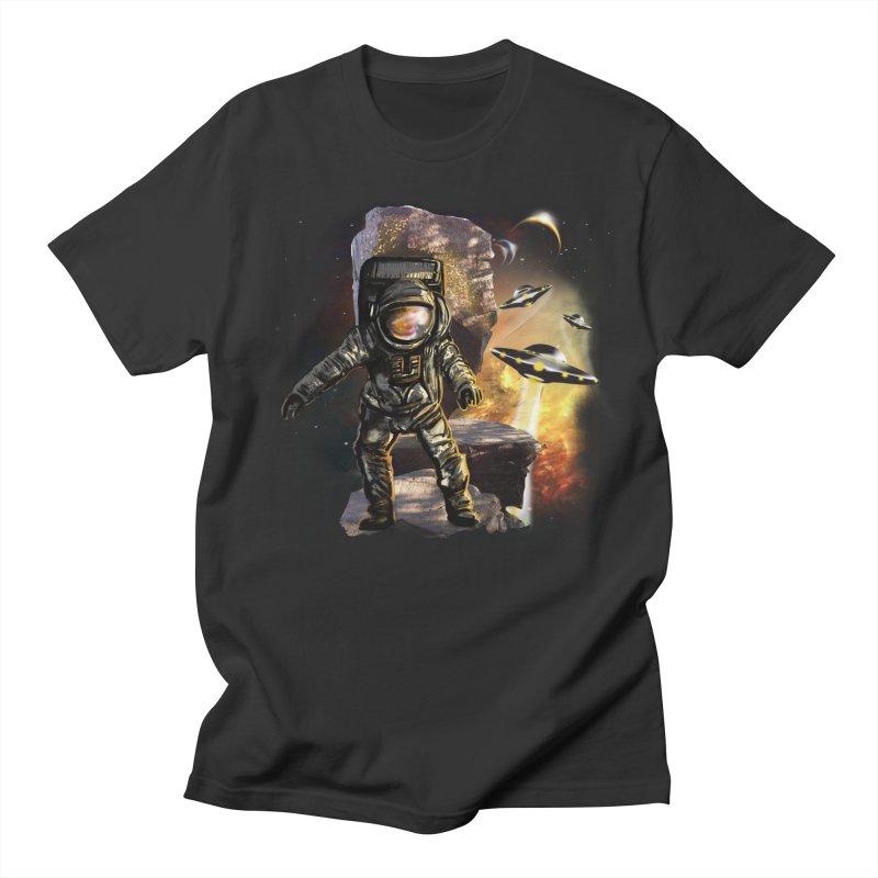 A tight spot in space Men's T-Shirt by JP$ Artist Shop