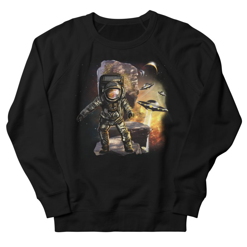 A tight spot in space Women's Sweatshirt by JP$ Artist Shop