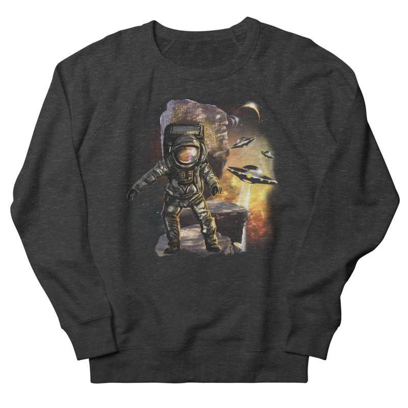 A tight spot in space Men's Sweatshirt by JP$ Artist Shop