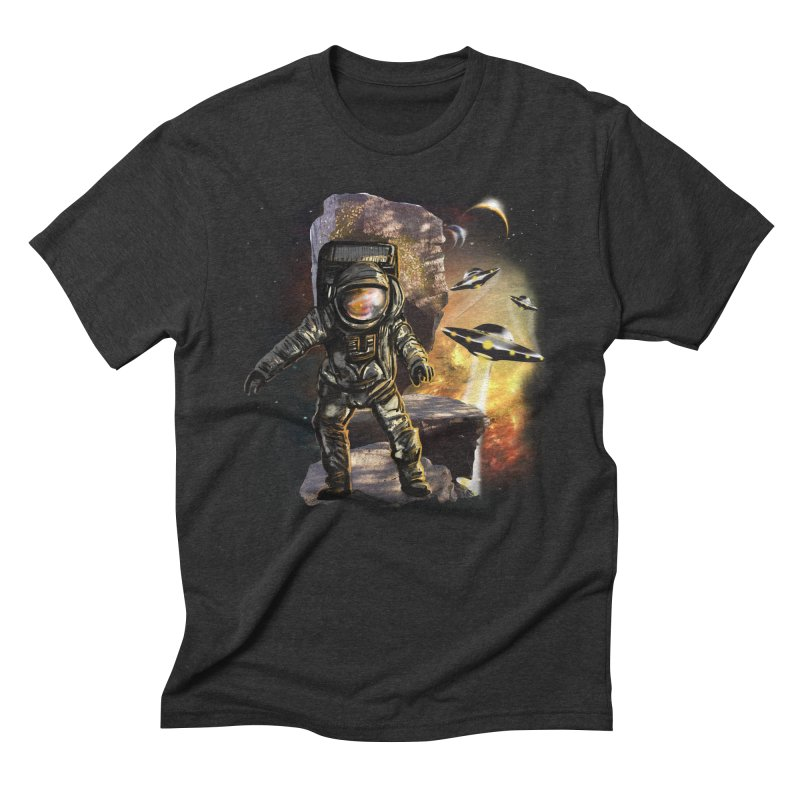 A tight spot in space Men's Triblend T-shirt by JP$ Artist Shop