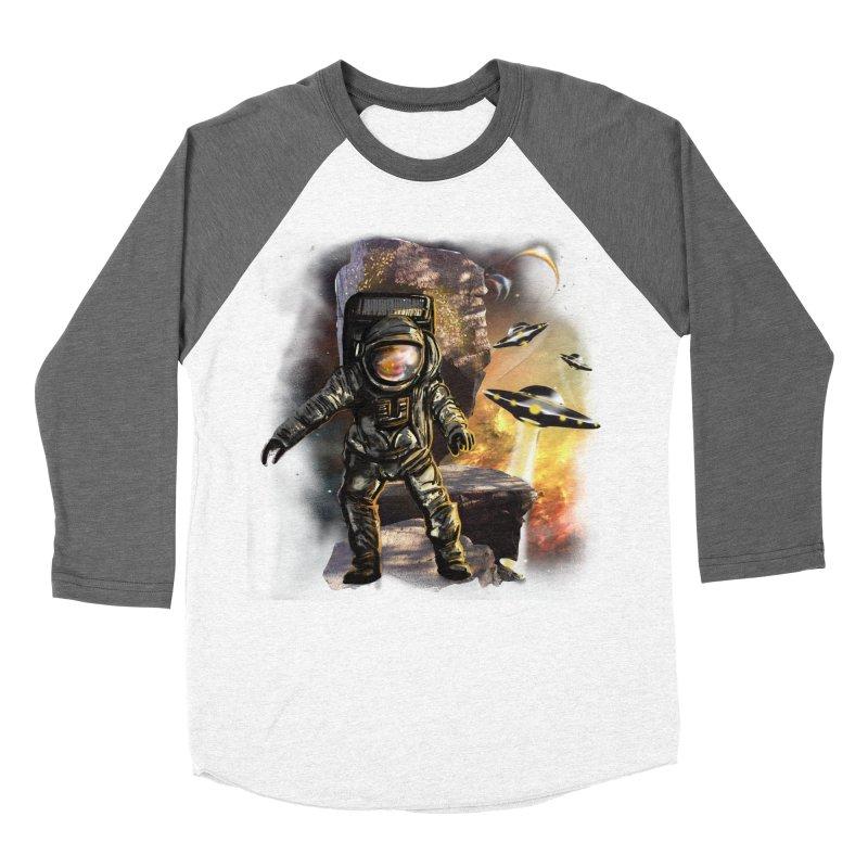 A tight spot in space Women's Baseball Triblend T-Shirt by JP$ Artist Shop