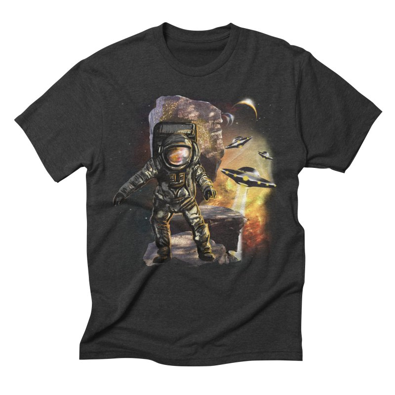 A tight spot in space Men's Triblend T-shirt by JP$ Artist Shop