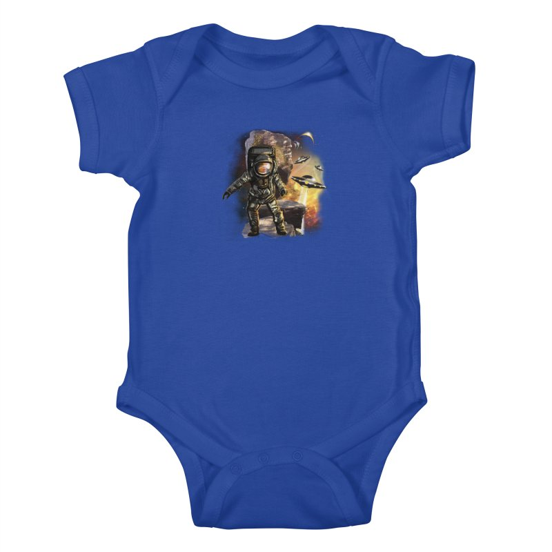 A tight spot in space Kids Baby Bodysuit by JP$ Artist Shop