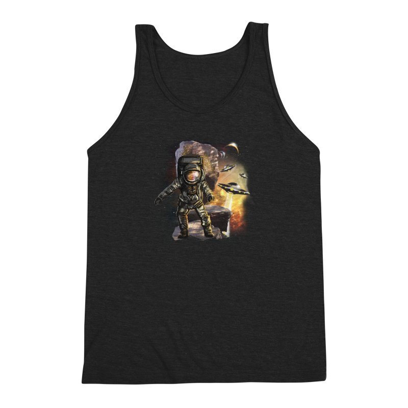 A tight spot in space Men's Triblend Tank by JP$ Artist Shop