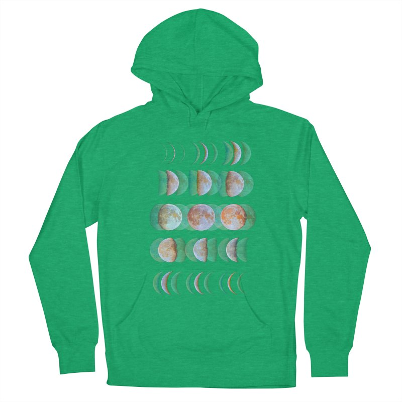 Moon phase Women's Pullover Hoody by JP$ Artist Shop