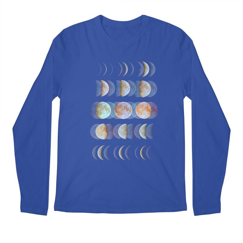 Moon phase Men's Longsleeve T-Shirt by JP$ Artist Shop
