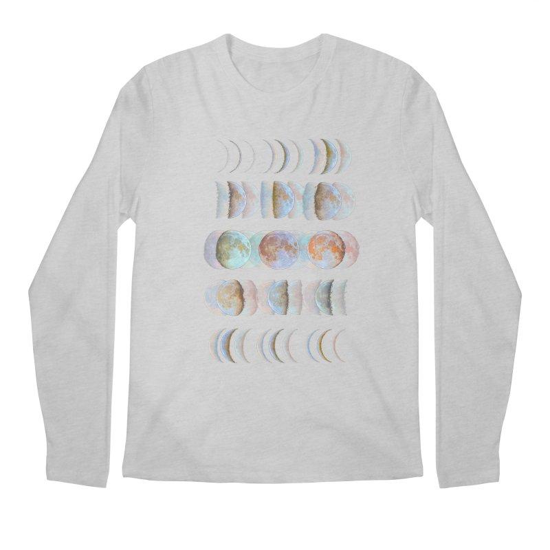 Moon phase Men's Longsleeve T-Shirt by JP$ Artist Shop