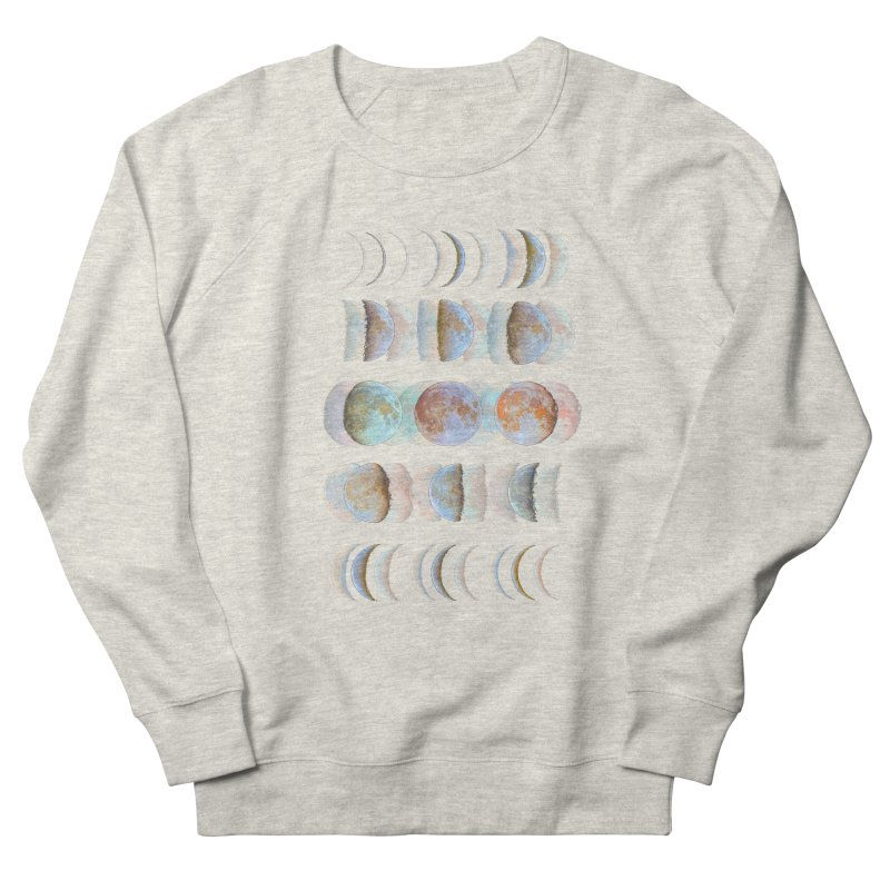 Moon phase Men's Sweatshirt by JP$ Artist Shop
