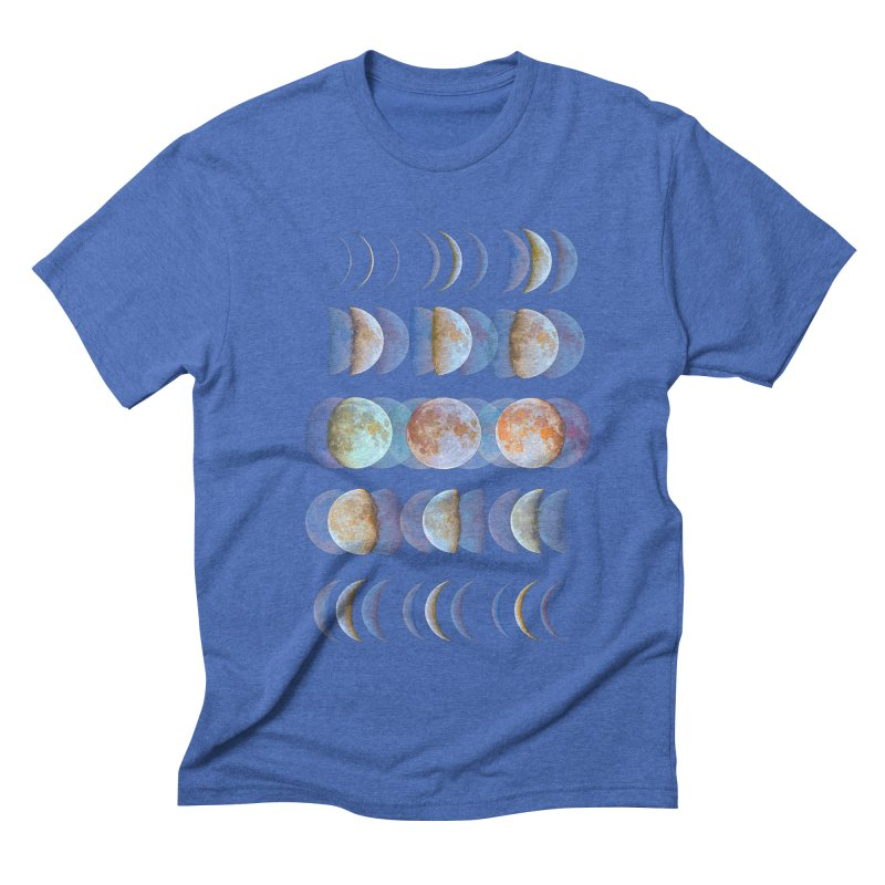 Moon phase Men's Triblend T-shirt by JP$ Artist Shop