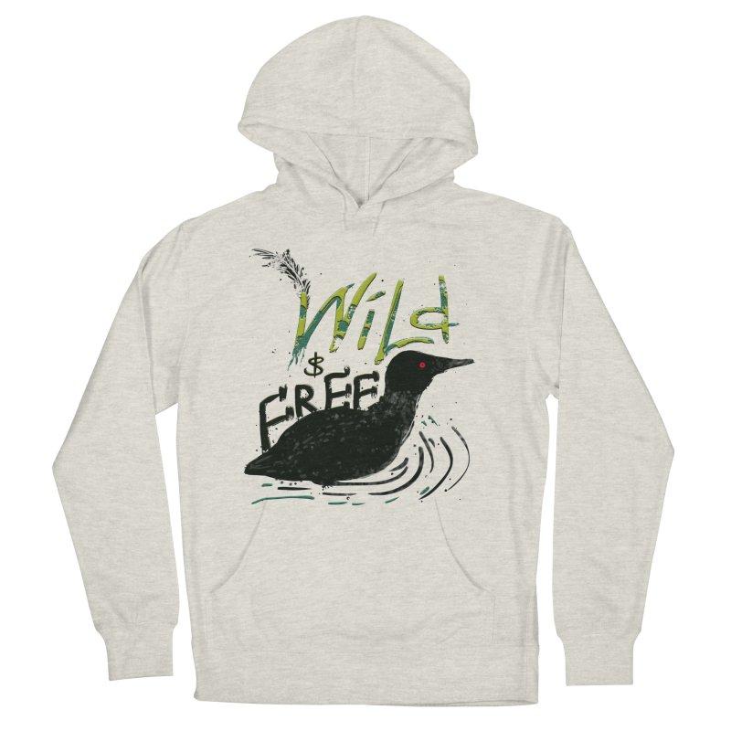 Wild $ Free Women's Pullover Hoody by JP$ Artist Shop