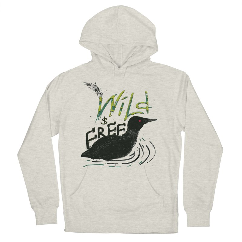 Wild $ Free Men's Pullover Hoody by JP$ Artist Shop