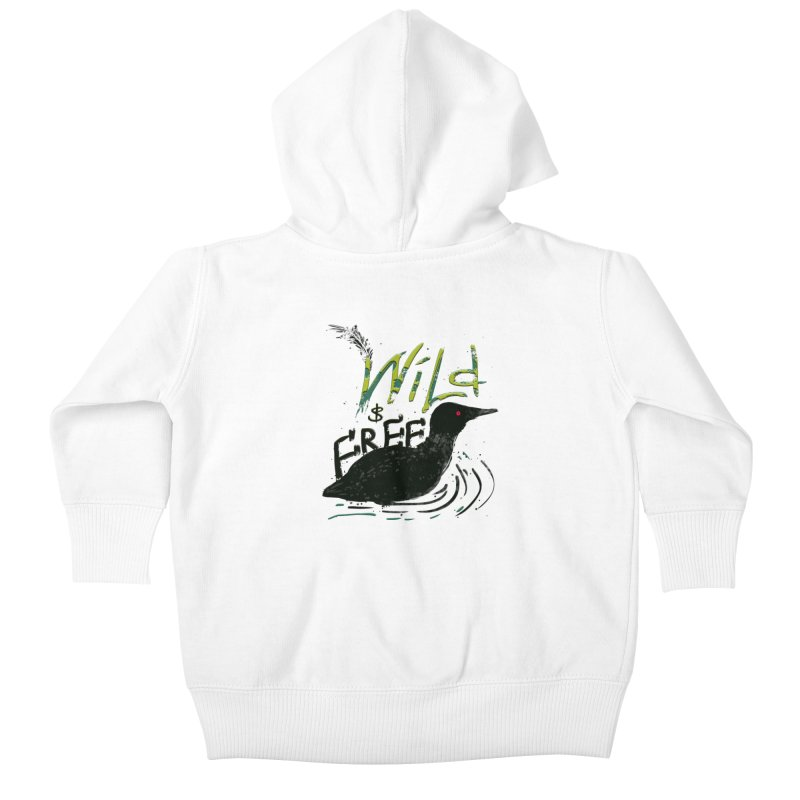 Wild $ Free Kids Baby Zip-Up Hoody by JP$ Artist Shop